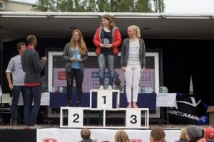 1. Johanna Skoglund, 2. Malin Tengström, 3. Liv Gyllfors